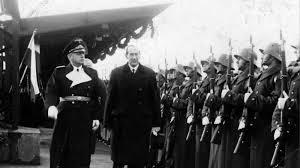 Józef Beck i Joachim von Ribbentrop