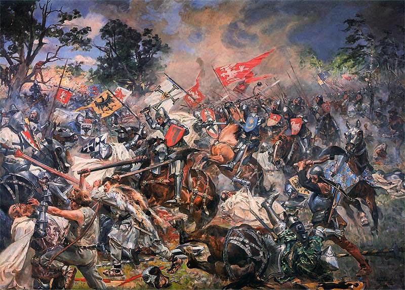 Wojciech Kossak - Bitwa pod Grunwaldem